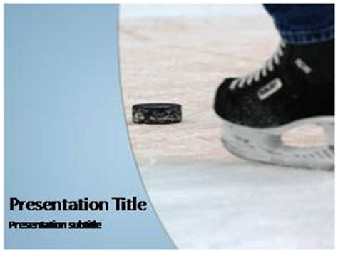 ice hockey  powerpoint template  background