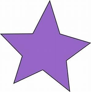 Purple Star Clip Art - Purple Star Image