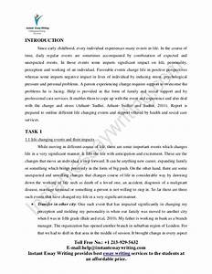 Essay For Science Life Changing Experience Essay Outline Pdf Top English Essays also Sample Persuasive Essay High School Life Changing Experience Essay Korean War Essay Life Changing  Health Awareness Essay