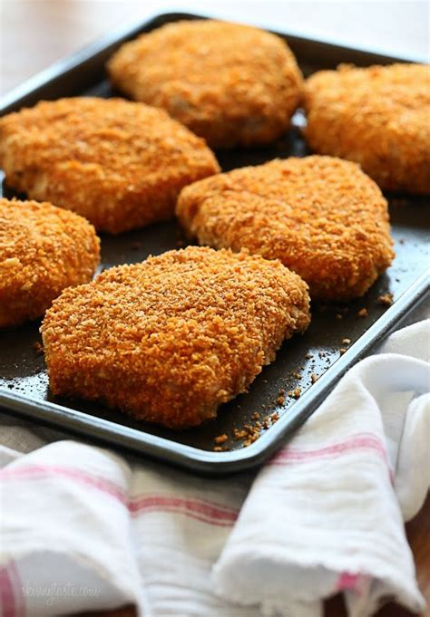 pork chops in oven oven fried pork chops recipe dishmaps