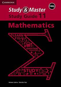 Study  U0026 Master Mathematics Grade 11 Study Guide Caps