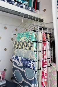 Hanging Fabric Storage Ideas