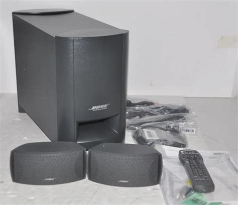 bose surround speaker bose cinemate home theater speaker system 037487 ebay