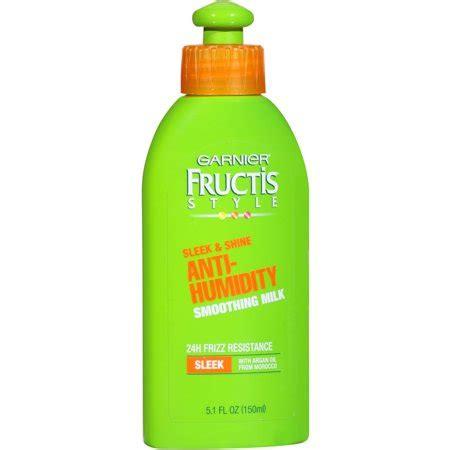garnier fructis style sleek and shine anti humidity hair spray garnier fructis style sleek and shine smoothing milk 5 1 9017