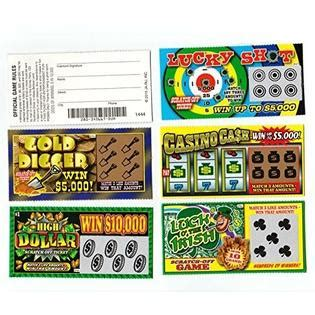 When you place an order with us, you are purchasing games in our own government approved lotteries e.g we will never charge any fees for claiming and paying winnings. 5 FAKE ALL WINNING SCRATCH OFF LOTTERY TICKETS - PRANK - GAG - JOKE by Hikingsters