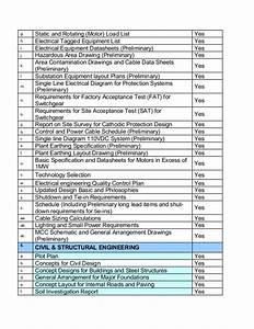 engineering equipment list template 2018 dodge reviews With engineering checklist template