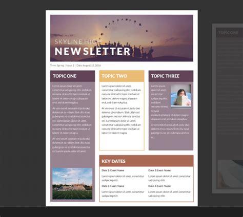 word newsletter template bravebtr