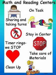 Anchor Charts For Reading Math And Reading Centers Expectations Anchor Chart By