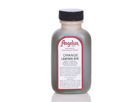 Angelus Dyes & Paint Orange 3oz