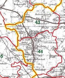 Staffordshire Parish Map
