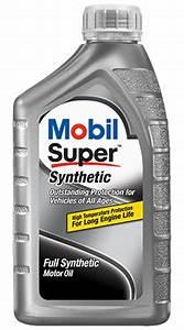 Mobil Super Synthetic Oil Mobil Motor Oils