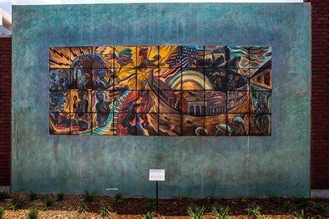 outdoor installations of tile murals natalie studios