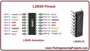 Introduction to L293D - The Engineering Projects