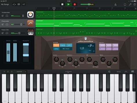 Garage Band App by Garageband For Iphone Review Apple Garageband For