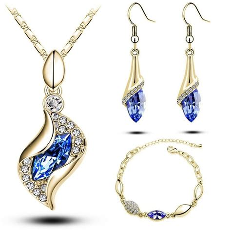 free shipping moda elegant luxury design new fashion 18k gold plated colorful austrian crystal