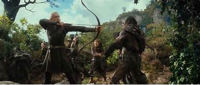 Hobbit Smaug Desolation Legolas Orcs Movie Hobit