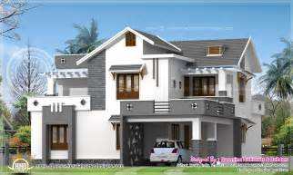 new home designs modern 214 square meter house elevation kerala home