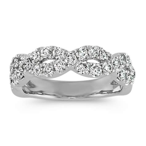 diamond infinity wedding band shane
