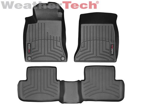 weathertech floor mats uk weathertech floor mats floorliner mercedes benz cla class 2014 2017 black ebay