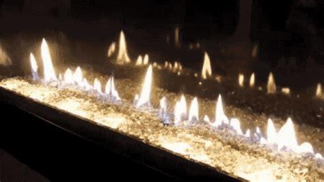 place burning gif fireplace burning lit discover