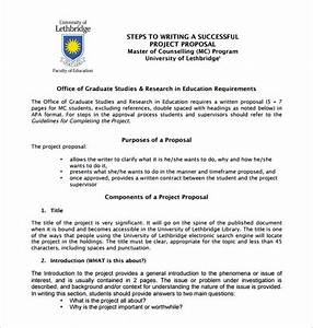 Writing Proposal Example Format For Argumentative Essay Isc Proposal