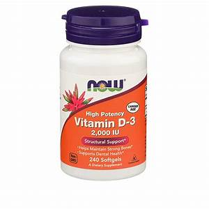 Best Vitamin D3 Supplement  U2013 See The Top 5