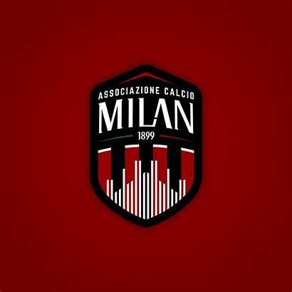 Milan Football Behance Rebranded Jerseys Logos Soccer