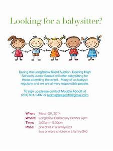 creative babysitting flyer ideas wwwpixsharkcom With babysitting poster template