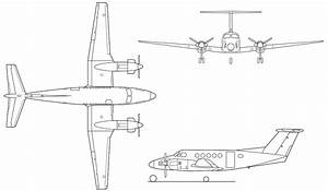 Beechcraft King Air 350i Sketch  With Images