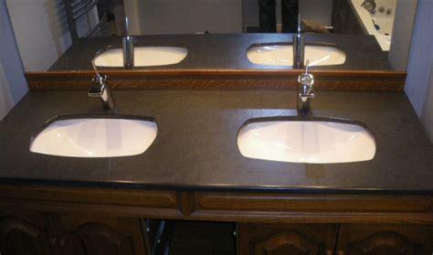 granit pour salle de bain de bain plan de travail de salle de bain classique fonc en granit