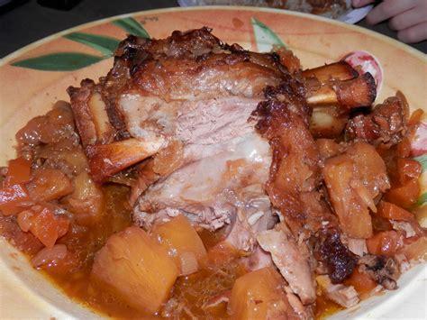 cuisiner un jarret de veau jarret de veau fondant à l 39 ananas un amour de cuisine