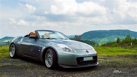 nissan  roadster wallpapers hd convertible blue