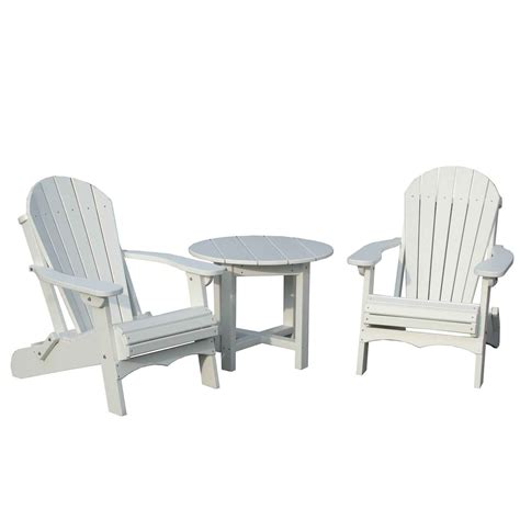 white plastic patio tables feel the home