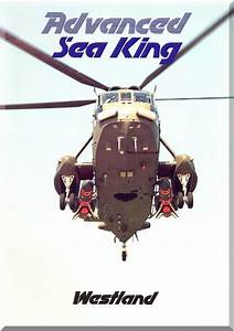 Westland Sea King Helicopter Brochure Manual