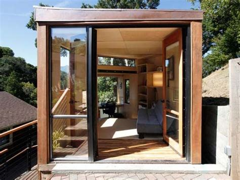 Prefab Backyard Home Office Designed By Students At