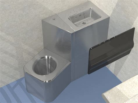 prison toilet and sink new concepts in prison cell design human response and