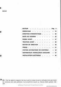 Controle Technique Ploemeur : manuel atelier same minitaurus 60 ~ Nature-et-papiers.com Idées de Décoration