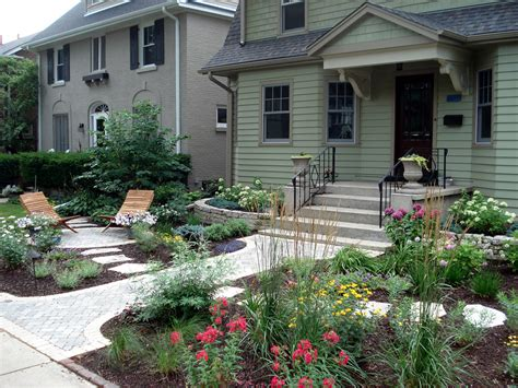 concrete front yard landscaping front yard landscaping ideas porch traditional with classic brick