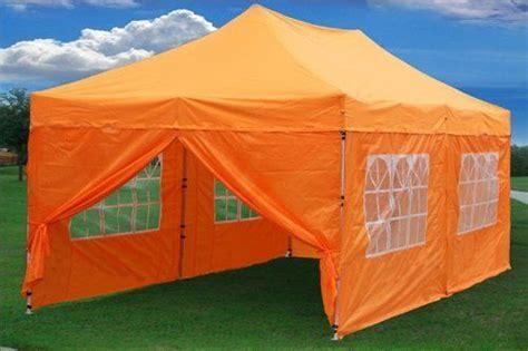 pop  tent canopy gazebo  sidewalls  colors