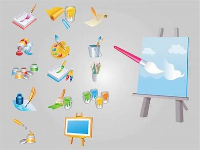 Painting Vectors Freevector Graphics