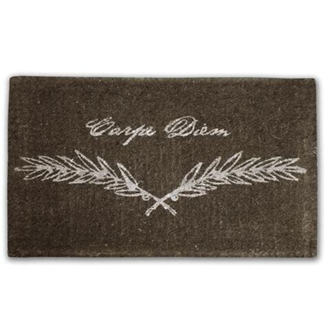 Design A Doormat by Doormat Designs Carpe Diem Doormat S Of Kensington