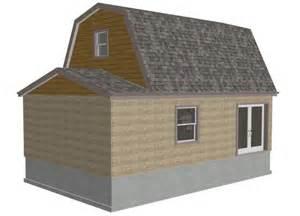 g455 gambrel 16 x 20 shed plans gambrel barn blueprints