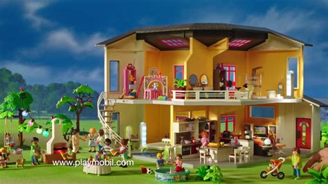 Modernes Haus Playmobil by Maison Moderne Wohnhaus
