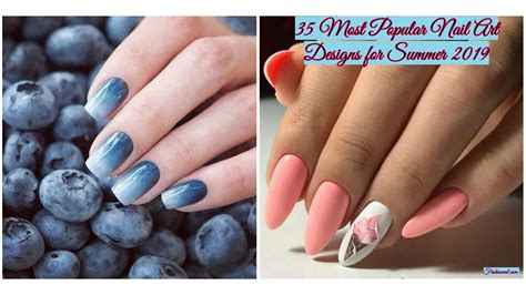 popular nail art designs  summer