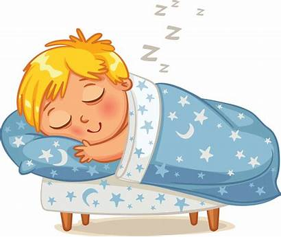 Sleeping Clipart Bed Toddler Sleep Transparent Daily