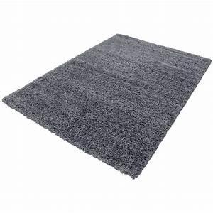 tapis shaggy gris moderne tapis design uni en With tapis shaggy design