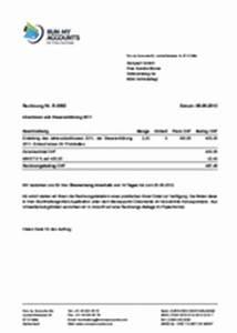 Rechnung Schweiz Lieferung Deutschland : wie schreibe ich eine korrekte rechnung run my accounts ag ~ Themetempest.com Abrechnung