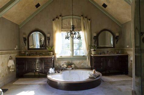 tuscan style bathroom lavish tub tuscan sun pinterest