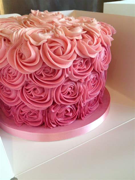 rose swirl cake   cake smash  birthday cakes