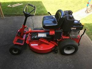 Snapper Ride On Mower 2012
